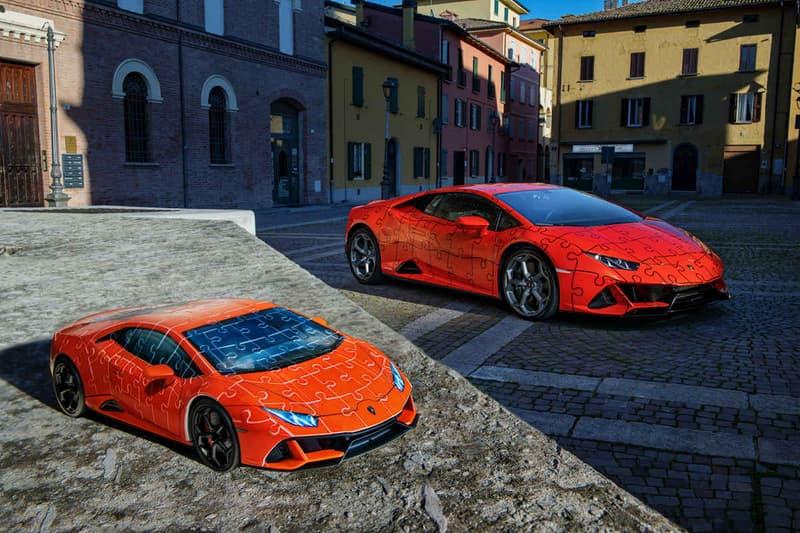 Lamborghini 推出全新 Huracán EVO 超跑 3D 拼圖