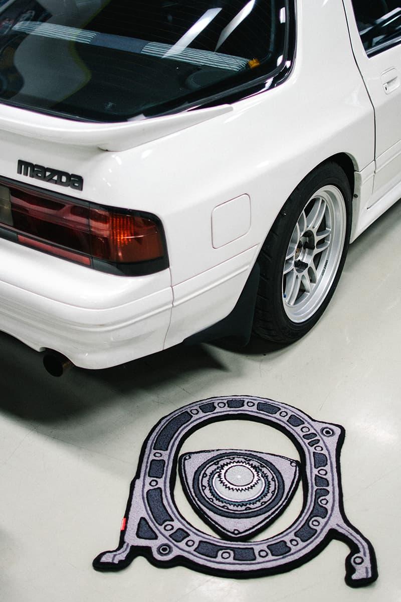 傳奇 RX 車系引擎 - Copaze 推出全新 Mazda 轉子引擎香精片及地氈