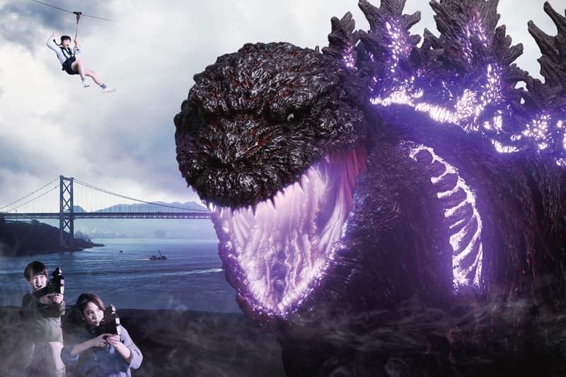 日本淡路島「1:1 真實尺寸 Godzilla」主題公園正式開幕