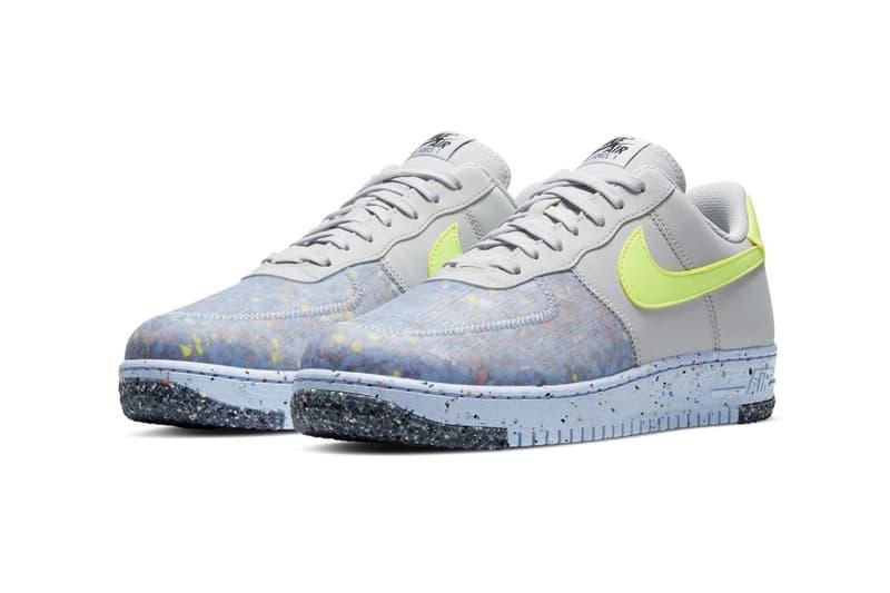 回收當道-Nike Air Force 1 Crater 系列推出全新配色