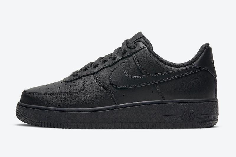Nike Air Force 1 經典「Triple Black」配色回歸