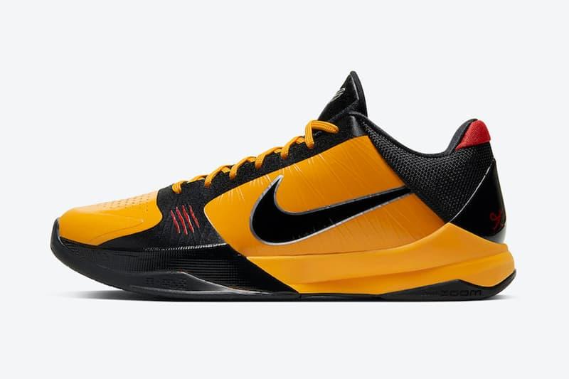 Nike Kobe 5 Protro 最新配色「Bruce Lee」發售情報曝光