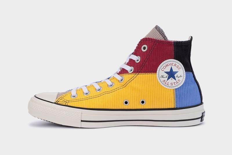 Converse Japan 推出全新拼布 Chuck Taylor All Star Hi 鞋款