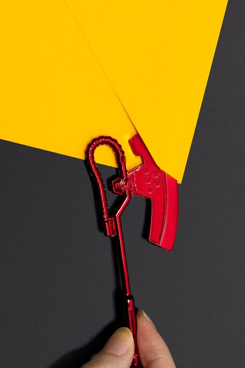 《機動戰士鋼彈 GUNDAM》ZAKU 經典裝備「電熱斧」造型拆信刀正式開放預購