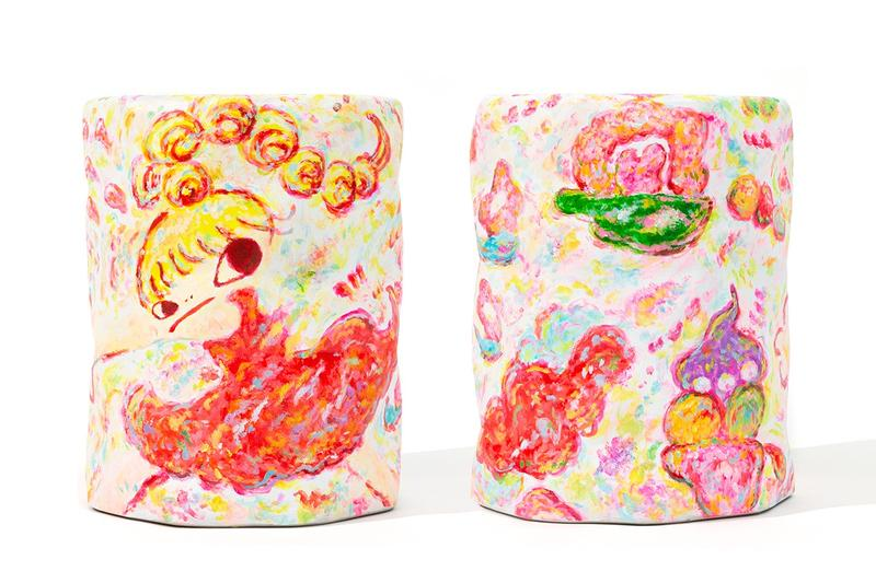 AllRightsReserved 攜手日本藝術家 Rokkaku Ayako 創作陶瓷椅凳