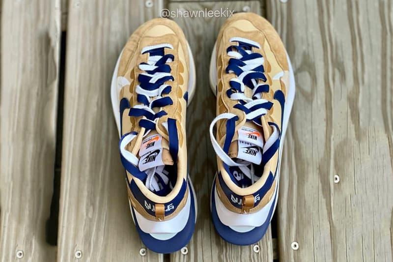 率先近賞 sacai x Nike Vaporwaffle 2021 春季聯乘系列鞋款