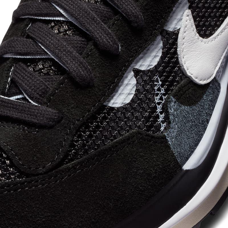 sacai x NikeVaporwaffle 最新聯名配色「Red/White/Blue」與「Black/White」登場