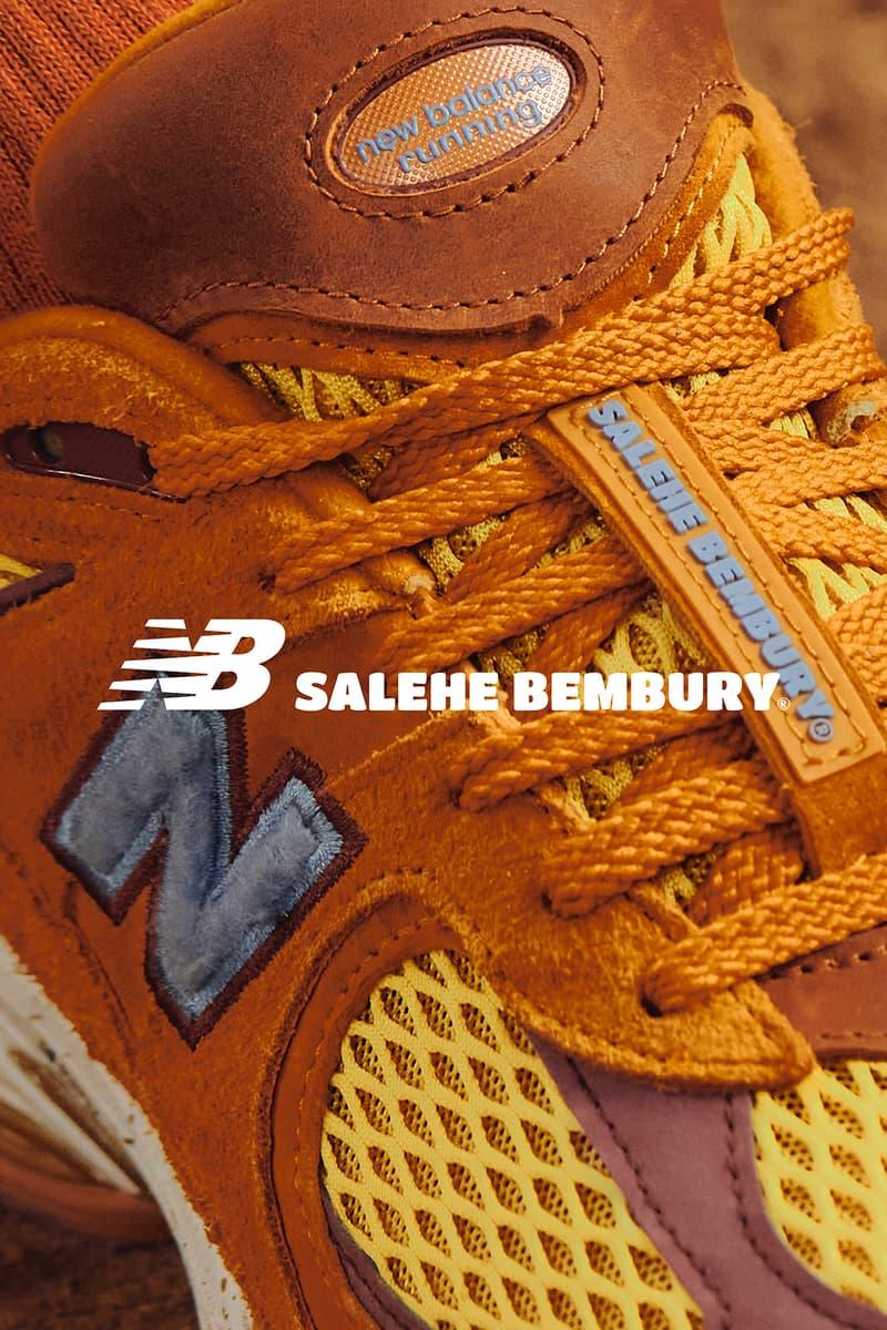 Salehe Bembury x New Balance 2002R 最新聯名鞋款發售情報公開