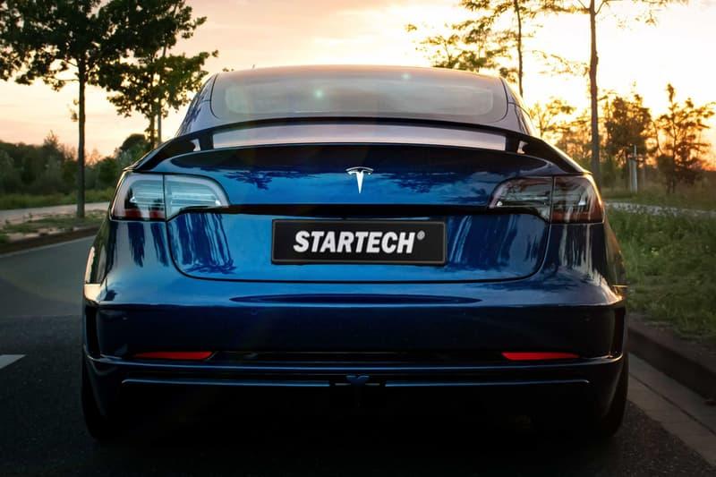 STARTECH 改裝 Tesla Model 3 全新空氣力學強化車款
