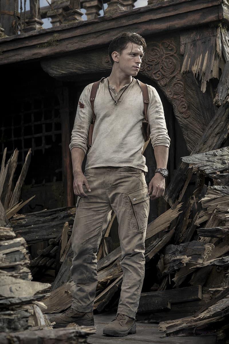 Tom Holland 主演《秘境探險 Uncharted》真人版電影首張劇照正式公開
