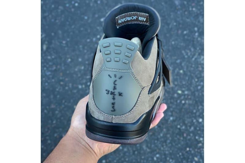 親友限定-Travis Scott x Air Jordan 4 未發售聯名鞋款意外曝光