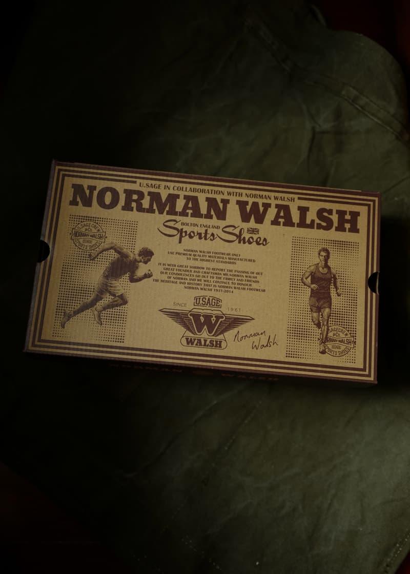U.Sage 攜手 Norman Walsh 打造 British Trainers 聯名鞋款