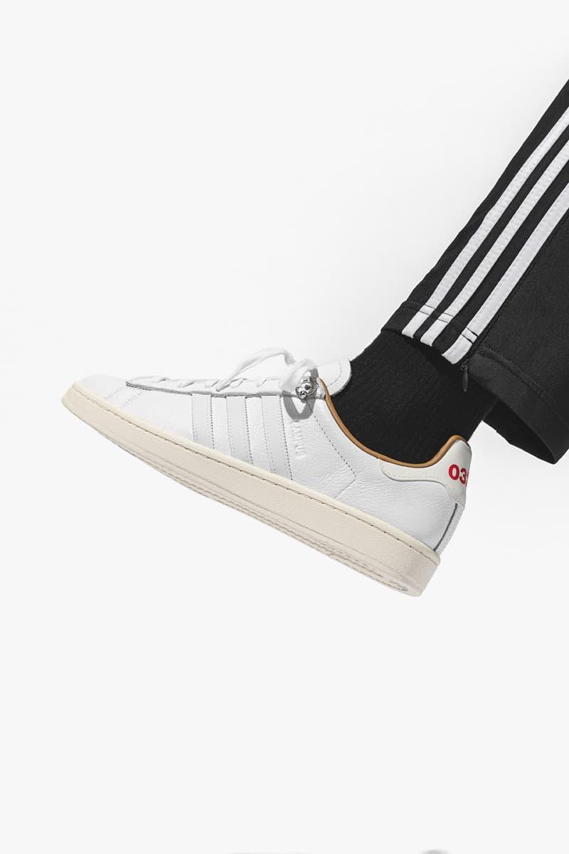 HBX 上架情報:032c x adidas Originals Campus 最新聯名鞋款