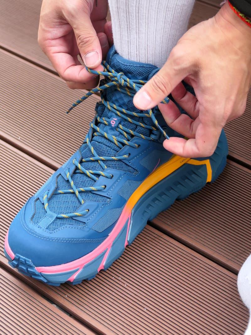 HOKA ONE ONE 機能鞋款新作 TENNINE HIKE GTX 正式發佈