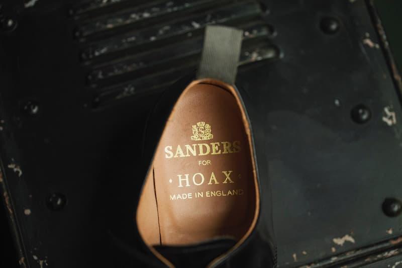 HOAX 聯乘 SANDERS 軍事主題系列正式開放預購