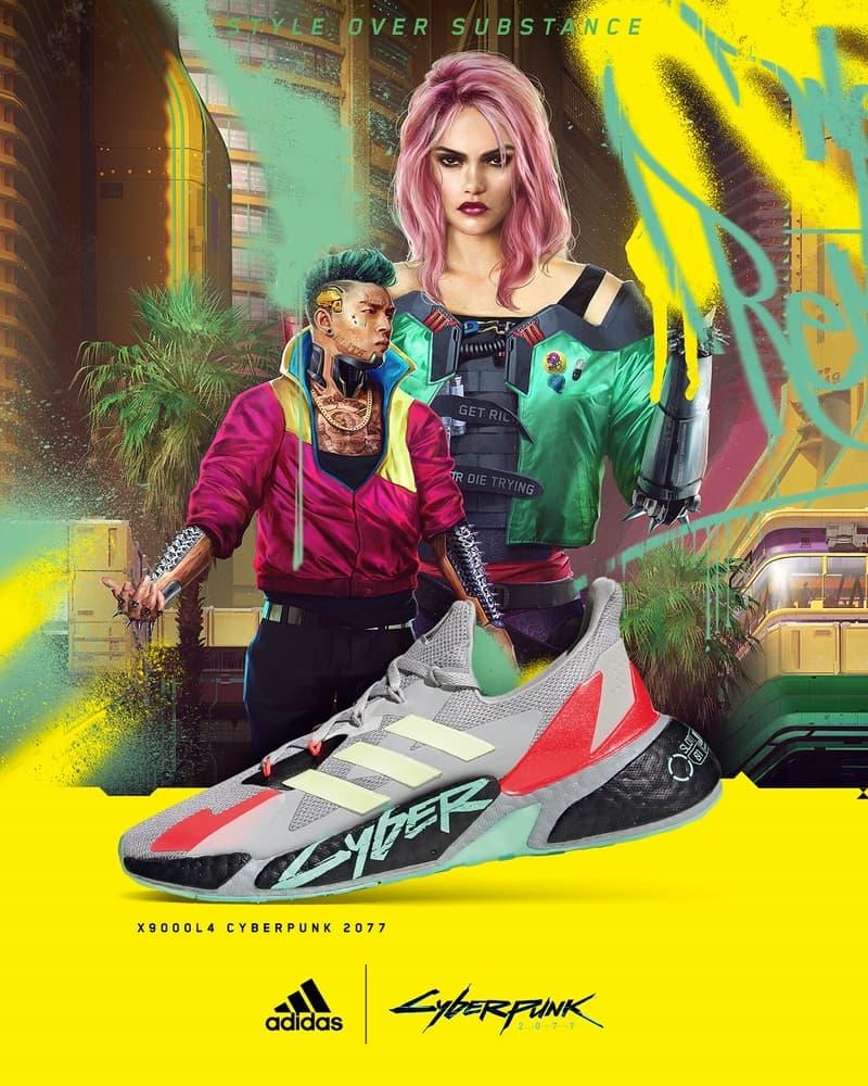 adidas x《Cyberpunk 2077》最新聯名鞋款發售情報公開