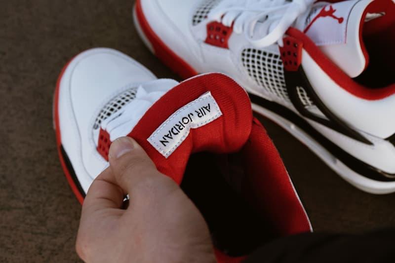 獨家近賞 Air Jordan 4 OG 最新復刻配色「Fire Red」