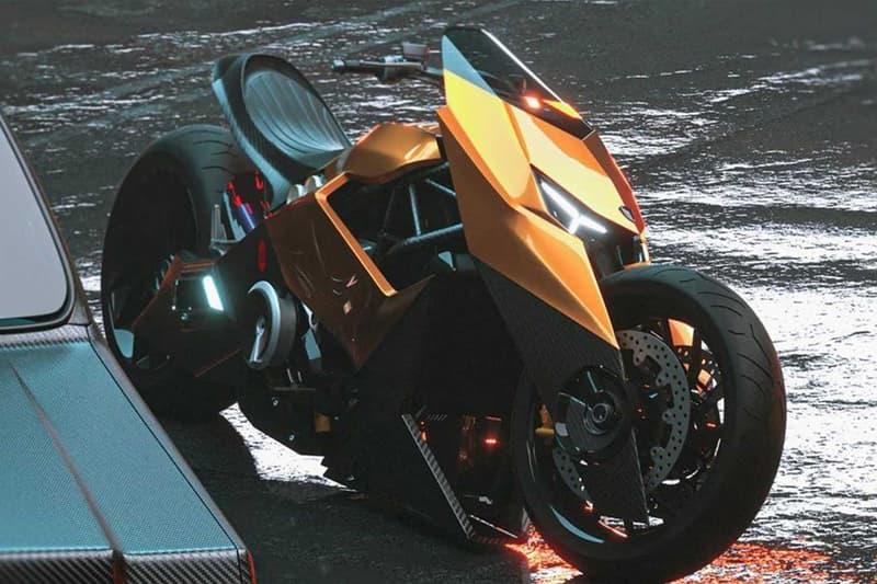 藝術家打造 Lamborghini Mangusta 全新概念電單車