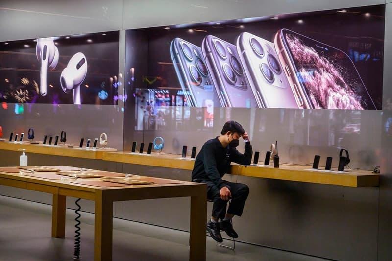 Apple 最新財報公佈導致股價下跌