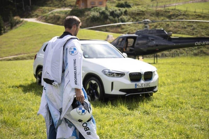 BMW 打造可承受時速 300 公里電能「翼服」
