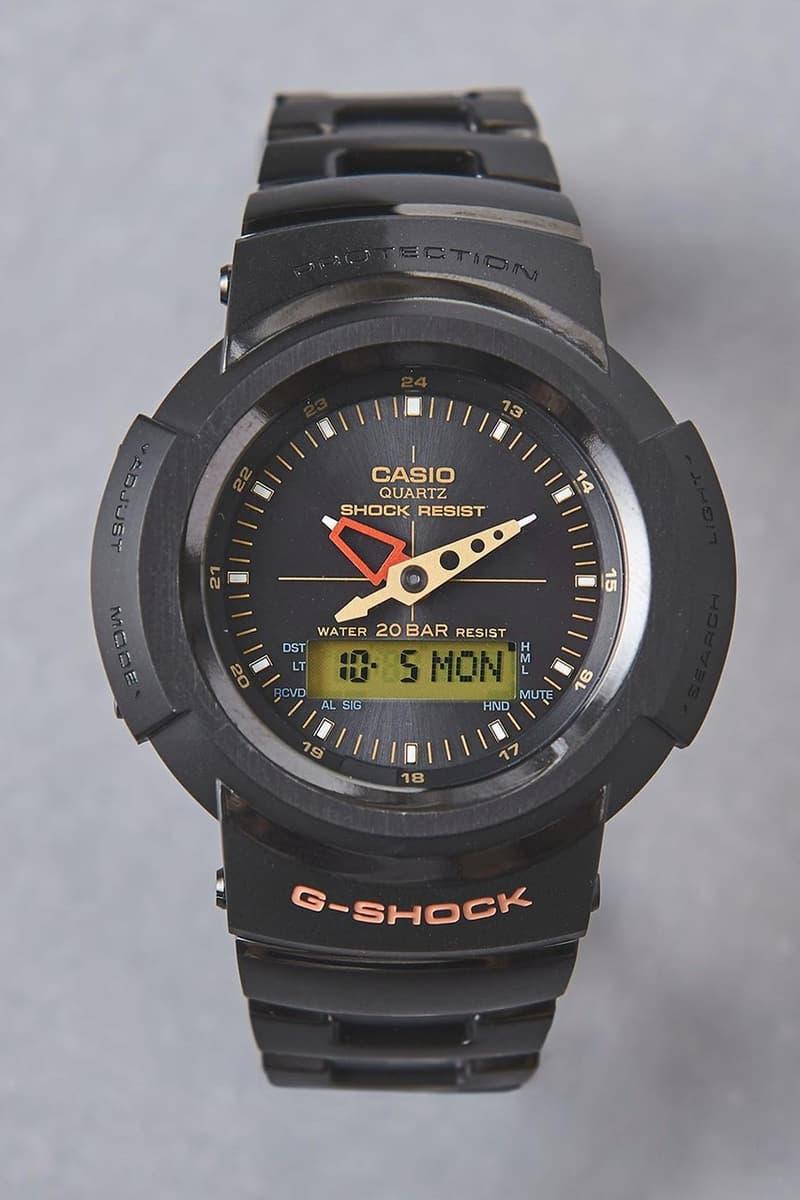 UNITED ARROWS x G-Shock AW-500 聯乘錶款發佈