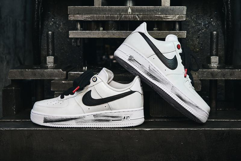 獨家近賞 G-Dragon 打造 PEACEMINUSONE x Nike Air Force 1「Para-Noise 2.0」
