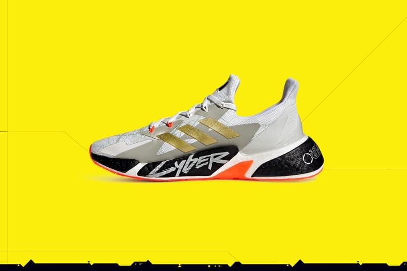 adidas 攜手《Cyberpunk 2077》推出 X9000 聯名鞋款系列