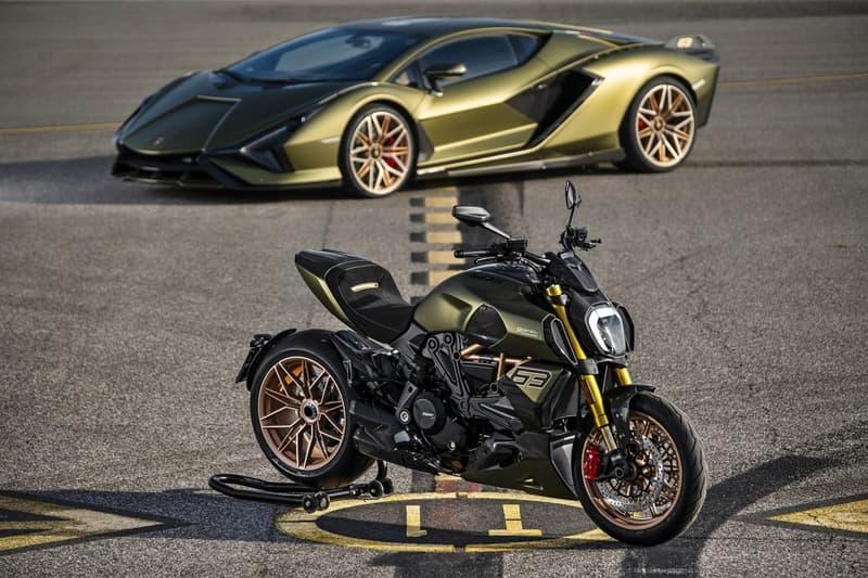 Lamborghini 攜手 Ducati 打造 Diavel 1260 別注電單車
