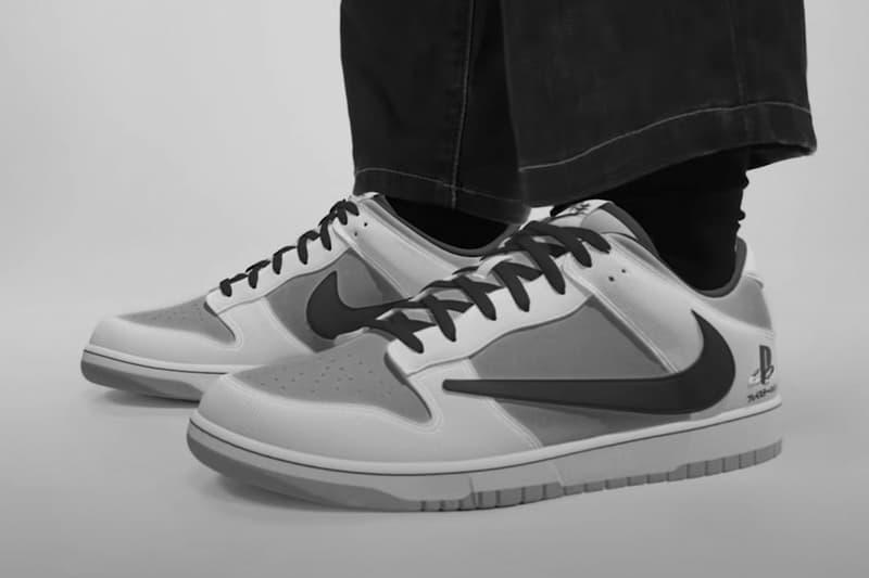 Sony PlayStation 5 x Travis Scott x Nike Dunk「仿冒」鞋款已在大量製造