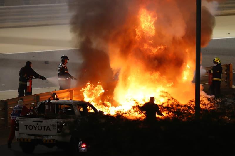 奇蹟逃生 – Formula 1 巴林站重大車禍意外引發爆炸火海