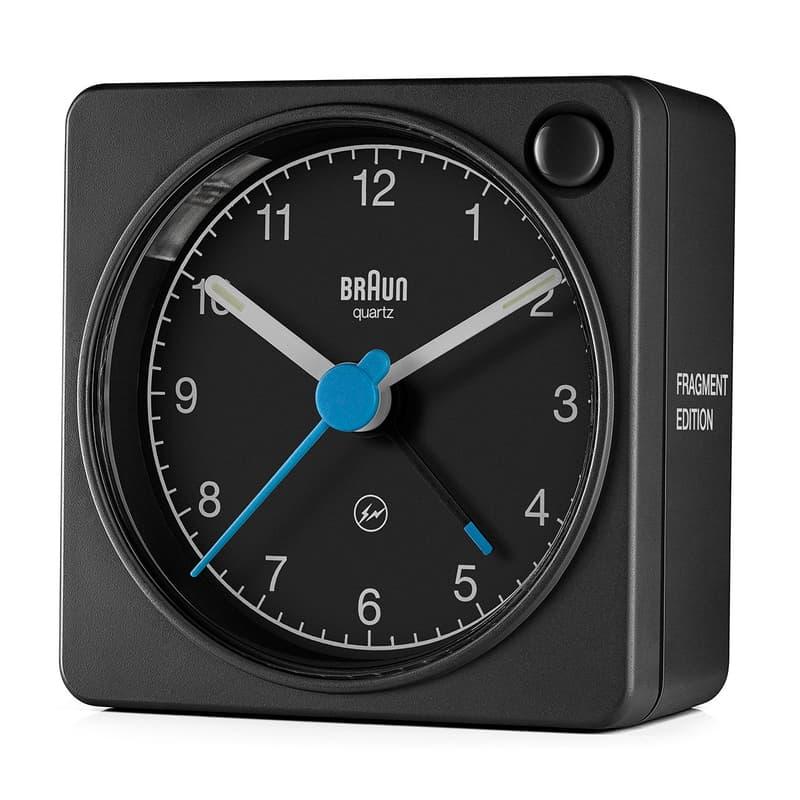 fragment design x Braun 最新極簡風格聯乘時鐘系列發佈