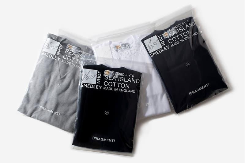 John Smedley x fragment design 最新聯乘衛衣系列發佈