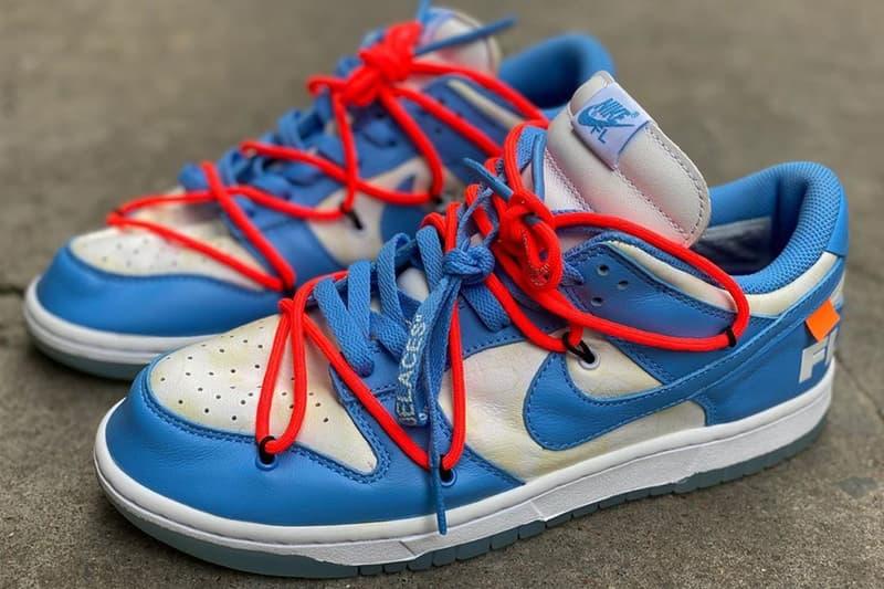 Off-White™ x Futura x Nike Dunk Low 聯名鞋款圖輯再次曝光
