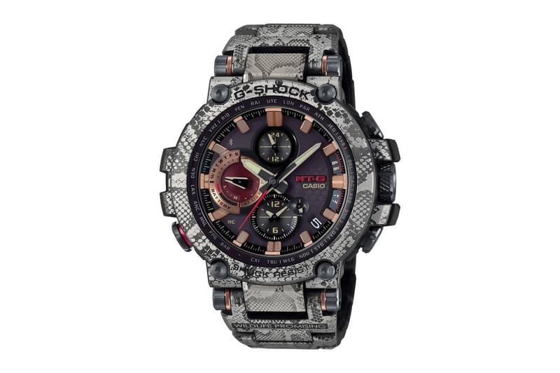 G-Shock 攜手動保組織打造「蛇鱗」樣式 MTGB1000 錶款