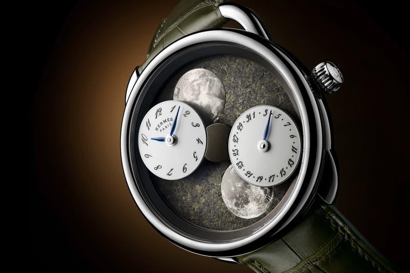 Hermès 推出 Arceau L'heure de la lune 月讀時光腕錶