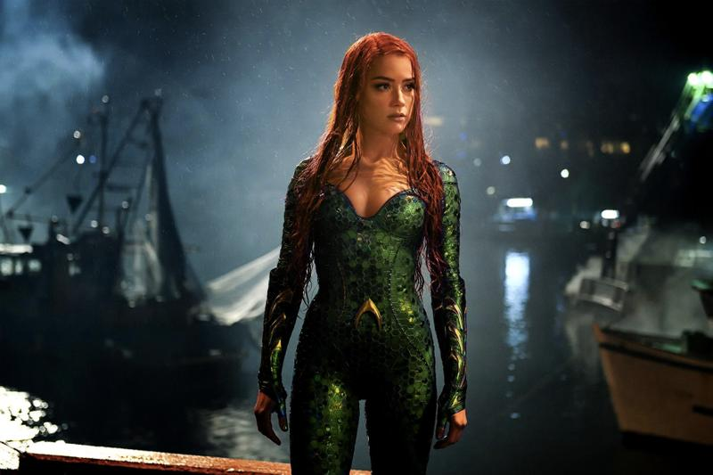 Johnny Depp 前妻 Amber Heard 親口證實她將回歸《Aquaman 水行俠 2》
