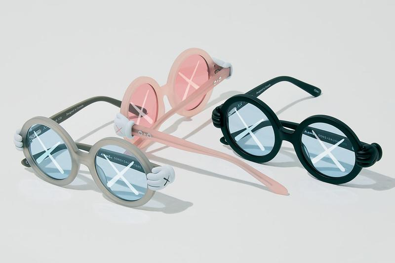 KAWS x Sons + Daughters 聯名兒童眼鏡系列發售情報公開