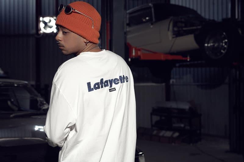 港日合作-LAKH Supply x LAFAYETTE 最新聯名系列正式登場