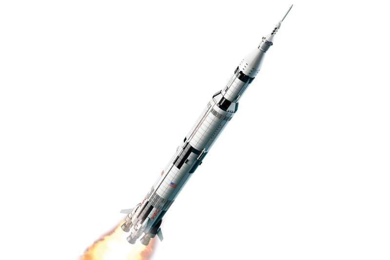LEGO 推出全新 NASA Apollo Saturn V 積木模型