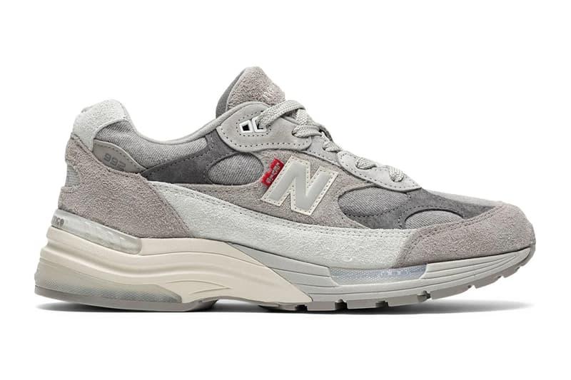 率先預覽 Levi's x New Balance 992 全新聯乘鞋款
