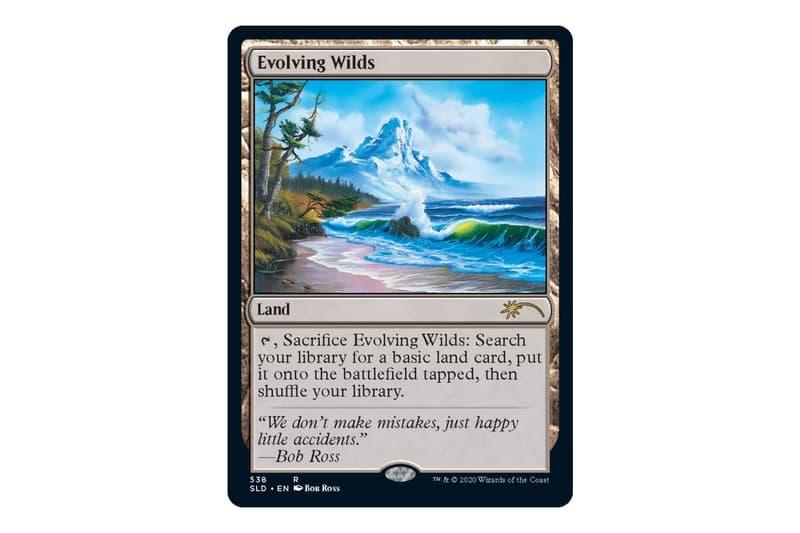 熱門卡牌遊戲《Magic: The Gathering 魔法風雲會》推出全新 Bob Ross 油畫版套裝