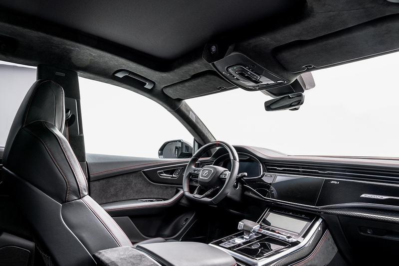 Mansory 打造 769 匹馬力 Audi RSQ8 改裝車款
