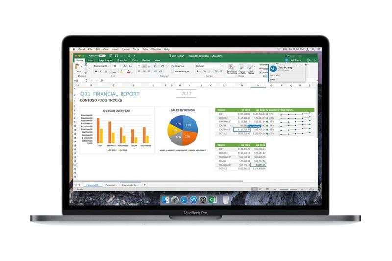 Microsoft Excel 意外曝光 Apple 即將推出全新 Apple Silicon Mac