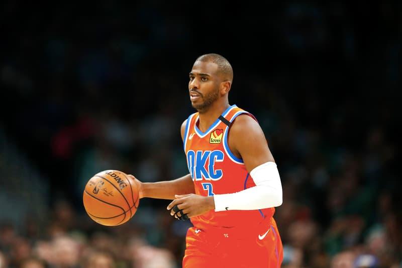 NBA 交易消息-Thunder 明星球員 Chris Paul 將被交易至 Suns