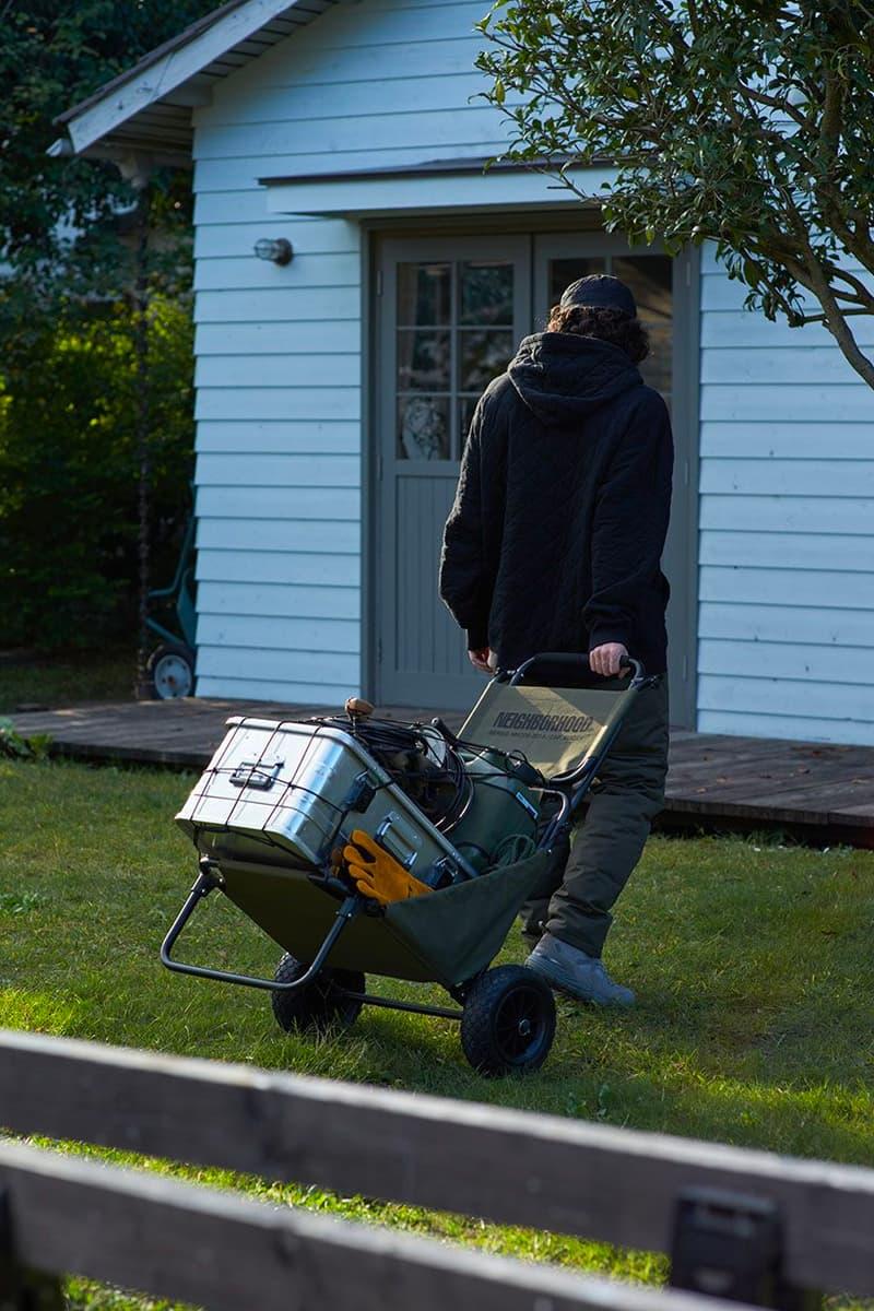 NEIGHBORHOOD 全新戶外用品系列「HOME OUTDOOR」正式發佈