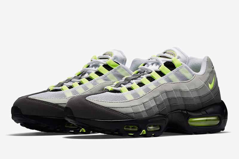 OG 回歸-Nike Air Max 95「Neon」元祖配色發售日期率先公開