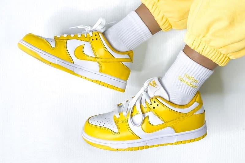 率先近賞 Nike 全新 Dunk Low「Yellow/White」清晰圖輯