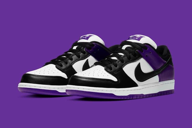 率先預覽 Nike SB Dunk Low 最新配色「Court Purple」
