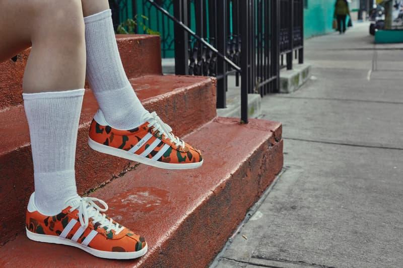 NOAH x adidas Originals Gazelle 最新聯名系列正式登場