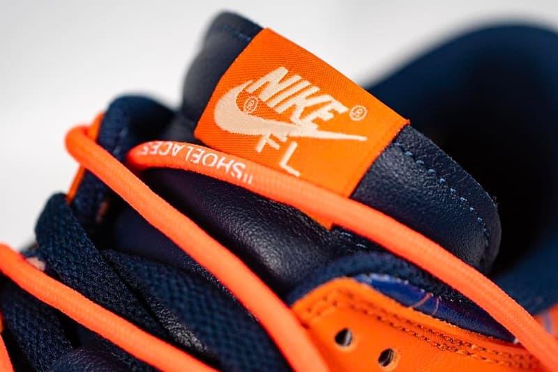 Off-White™ x Futura x Nike Dunk Low 三方聯乘鞋款近賞